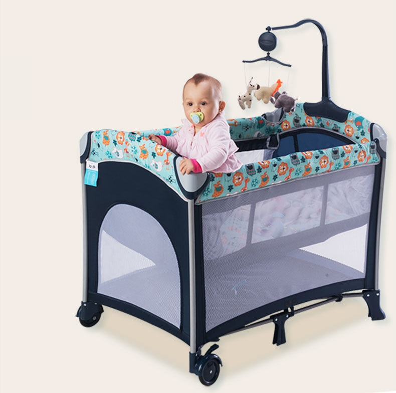 eczko turystyczne dla dziecka kojec 2 poziomy przewijak moskitiera szare zwierz tka sklep. Black Bedroom Furniture Sets. Home Design Ideas